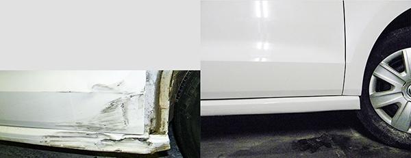 Частичная покраска микроавтобуса СТО АТЛАНТИС